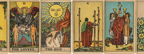 Red FM_Tarot encounters