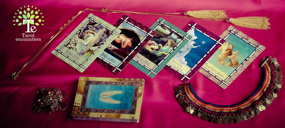 Tarot-encounters---Healing-With-The-Angels-Oracle-Cards